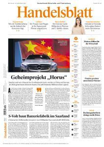 Handelsblatt - 18 November 2020
