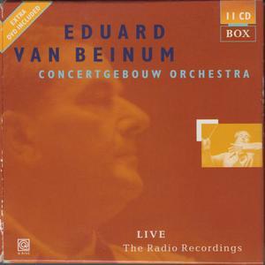 Eduard van Beinum - Concertgebouw Orchestra - Live - The Radio Recordings (2000) {11CD Box Set Q Disc 97015 rec 1935-1958}
