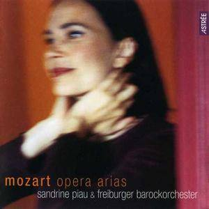 Sandrine Piau, Freiburger Barockorchester - Mozart: Opera Arias (2002) (Repost)