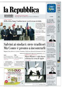 la Repubblica - 4 Gennaio 2019