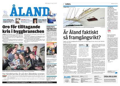 Ålandstidningen – 11 mars 2019