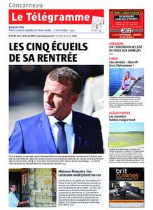 Le Télégramme Concarneau – 21 août 2019