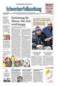 Schweriner Volkszeitung Hagenower Kreisblatt - 02. Dezember 2017