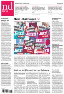 Neues Deutschland - 22 Juli 2021