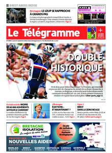 Le Télégramme Brest Abers Iroise – 27 septembre 2021