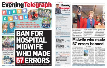 Evening Telegraph First Edition – September 10, 2019