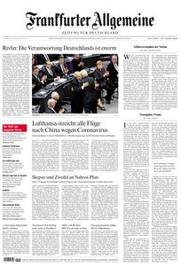 Frankfurter Allgemeine Zeitung F.A.Z. - 30. Januar 2020