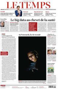 Le Temps - 12 mars 2019