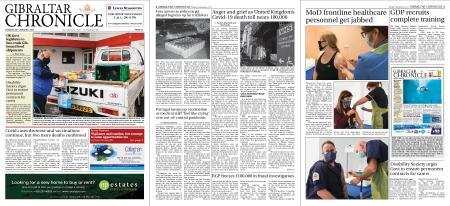Gibraltar Chronicle – 26 January 2021