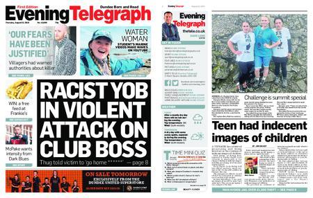 Evening Telegraph First Edition – August 22, 2019