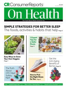 Consumer Reports on Health - July 2021