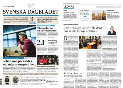 Svenska Dagbladet – 02 oktober 2019