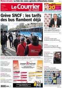 Le Courrier de l'Ouest Angers - 04 avril 2018