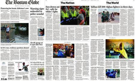 The Boston Globe – August 13, 2018