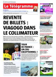 Le Télégramme Concarneau – 29 juillet 2019