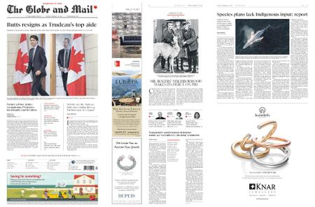 The Globe and Mail – February 19, 2019