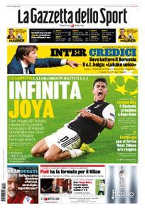 La Gazzetta dello Sport – 23 ottobre 2019