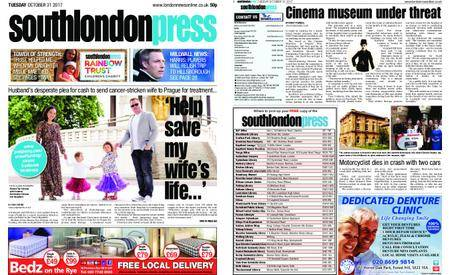South London Press – October 31, 2017