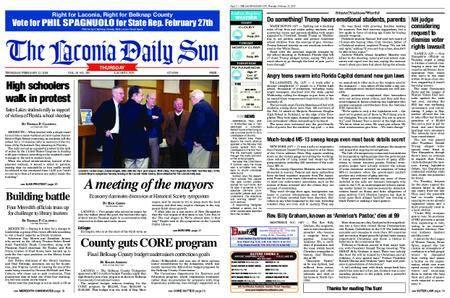 The Laconia Daily Sun – February 22, 2018