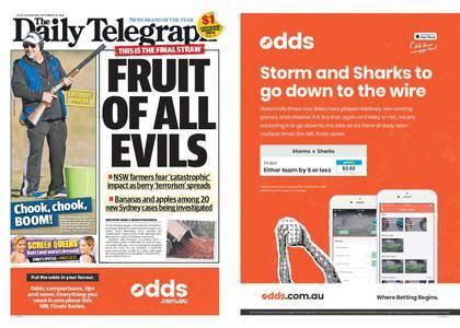 The Daily Telegraph (Sydney) – September 19, 2018