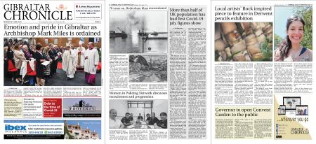 Gibraltar Chronicle – 26 April 2021