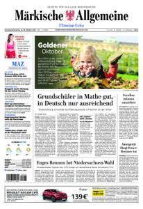 Märkische Allgemeine Fläming Echo - 14. Oktober 2017