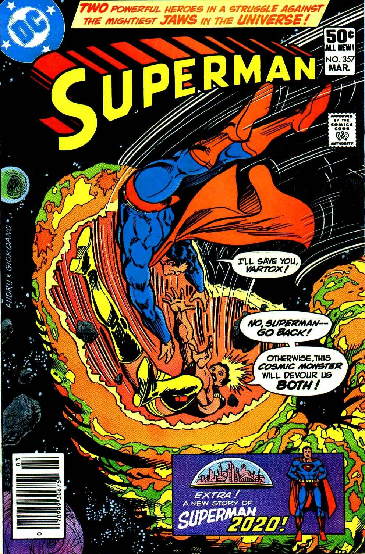 Superman 1971-1986 [137 of 205] [1981-03] Superman 357 ctc cbz