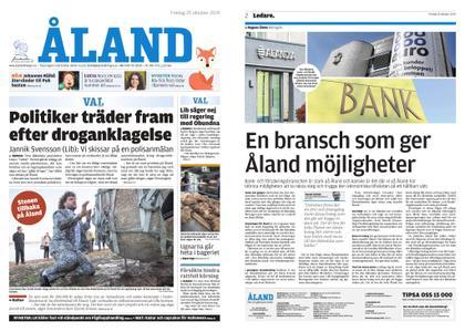 Ålandstidningen – 25 oktober 2019