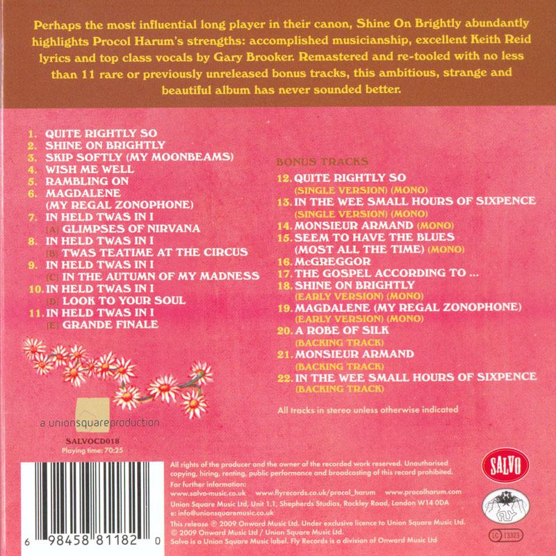 Procol Harum - 9 Albums (1967-1975) [2009 Salvo Reissues