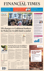 Financial Times Europe – 02 November 2018