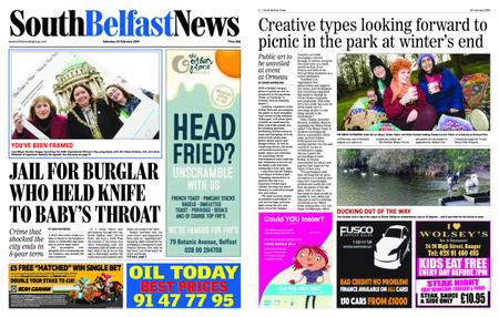 South Belfast News – February 21, 2019