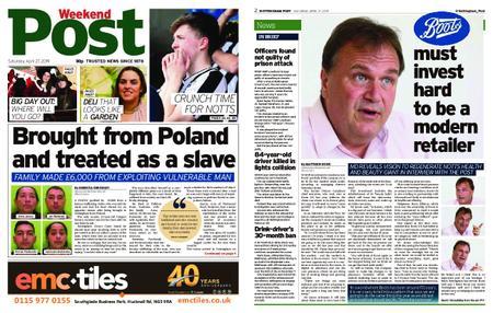 Nottingham Post – April 27, 2019