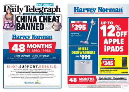 The Daily Telegraph (Sydney) – February 29, 2020