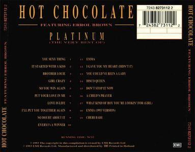 Hot Chocolate featuring Errol Brown - Platinum (The Very Best Of) (1993) {EMI}