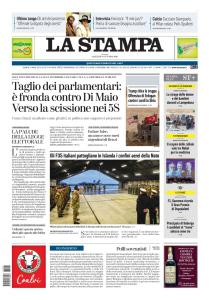 La Stampa Imperia e Sanremo - 8 Ottobre 2019
