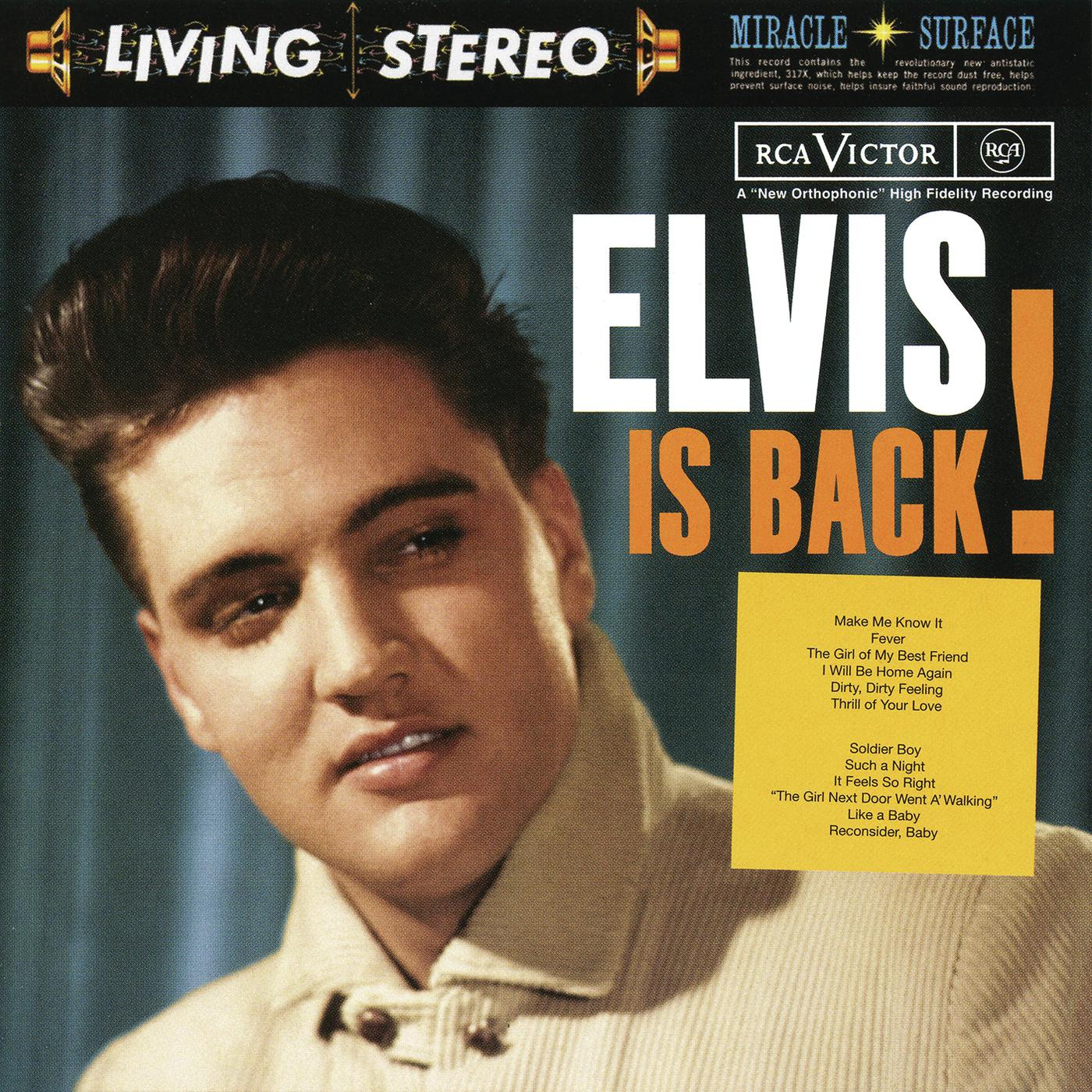 Elvis Presley - Elvis Is Back! (1960/2015) [Official Digital Download 24/96] RE-UP