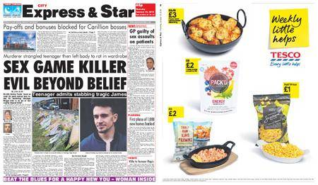 Express and Star City Edition – January 18, 2018