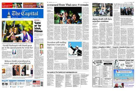 The Capital – July 09, 2018