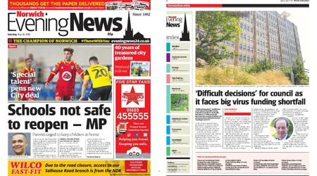 Norwich Evening News – May 30, 2020