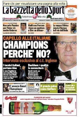 La Gazzetta dello Sport (28-12-09)