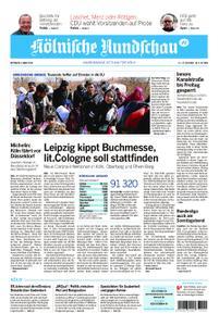 Kölnische Rundschau Wipperfürth/Lindlar – 04. März 2020