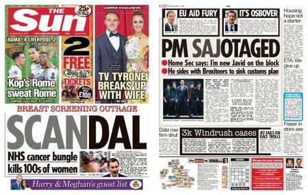 The Sun UK – 03 May 2018