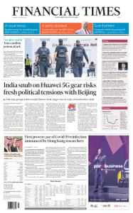 Financial Times Asia - August 25, 2020