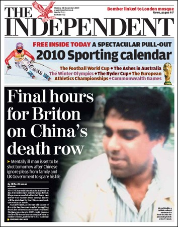 The Independent - 28 December 2009