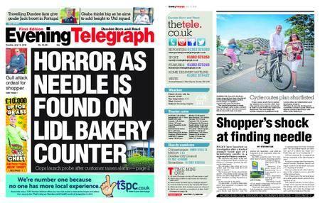 Evening Telegraph First Edition – July 10, 2018