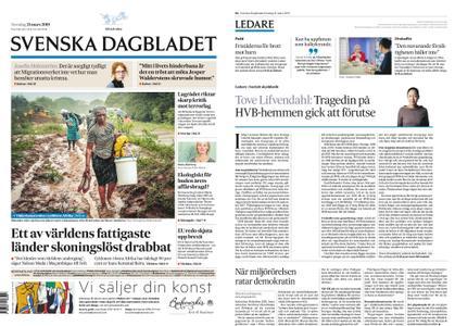 Svenska Dagbladet – 21 mars 2019
