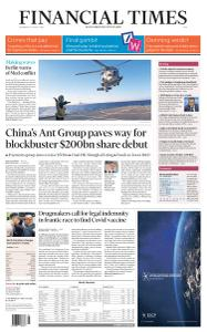 Financial Times Asia - August 26, 2020