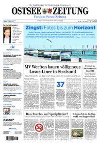 Ostsee Zeitung Wolgast - 25. Mai 2018
