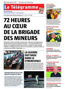 Le Télégramme Concarneau – 16 juin 2019