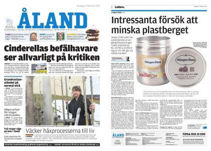 Ålandstidningen – 27 februari 2019